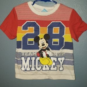 Mickey mouse shirt size 3t